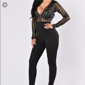 FASHION NOVA RUSSIAN ROULETTE JUMPSUIT